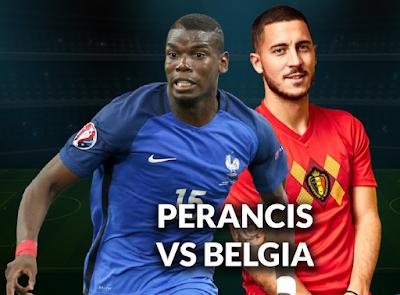 Jadwal dan Link Live Streaming Semifinal UEFA Nations League :  Belgium vs France