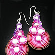 marickagyöngy: Soutache earring number 4