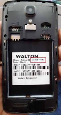 WALTON PRIMO E9 512MB+8GB