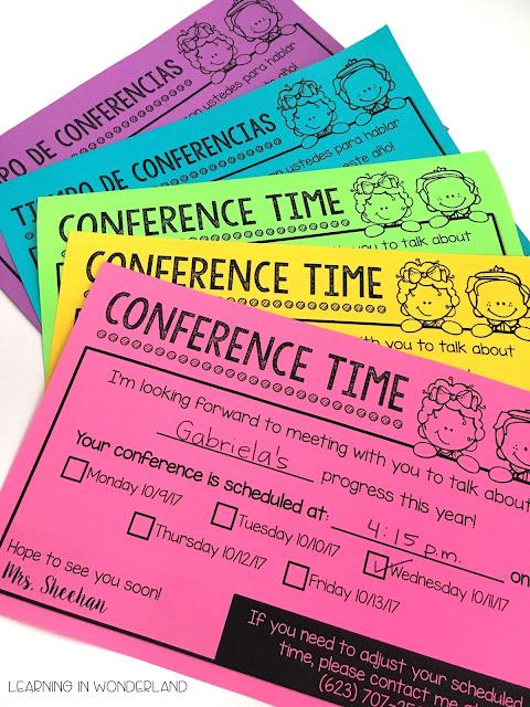 Parent teacher conferences made easy!