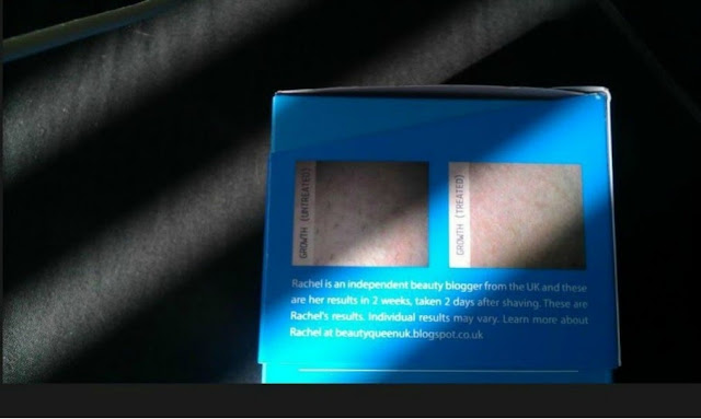 Beautyqueenuk appears on the Packaging for Inhibitif!