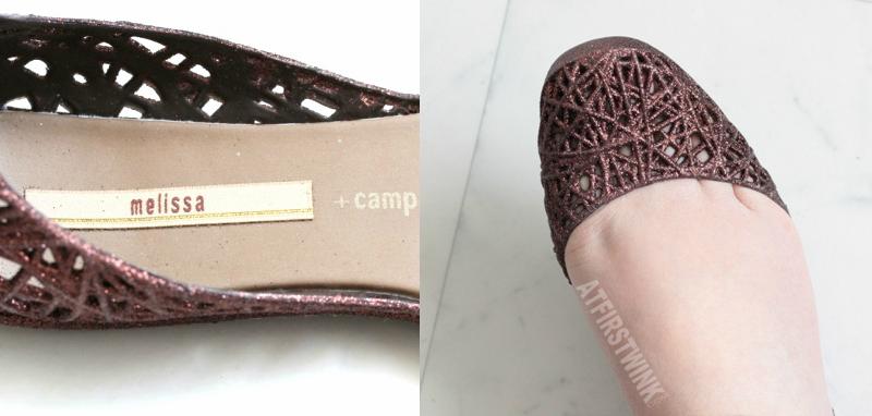 Melissa Campana zig zag - bronze/brown details