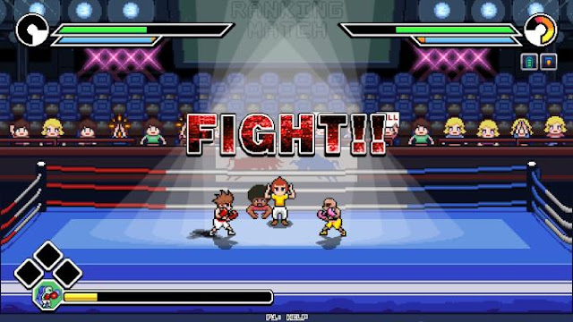 Victory Road  this is a great boxing simulator, which is a mix of such genres as strategy and fighting game.
