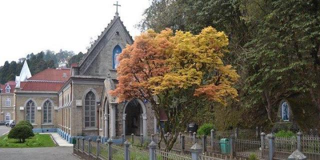 Church near Loreto Convent School Darjeeling