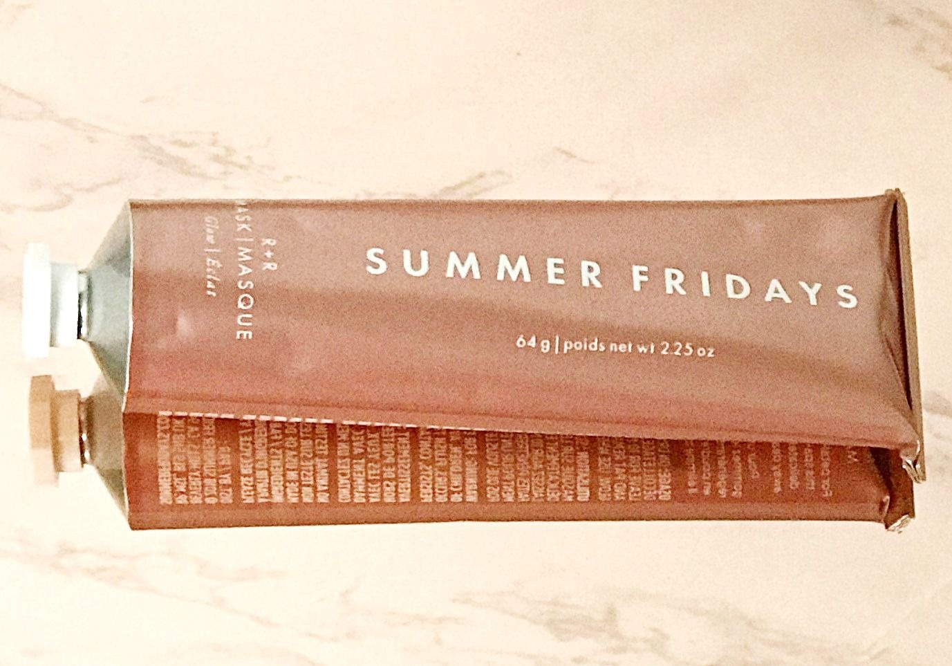 Summer Fridays R+R mask - smooth, glowing skin!