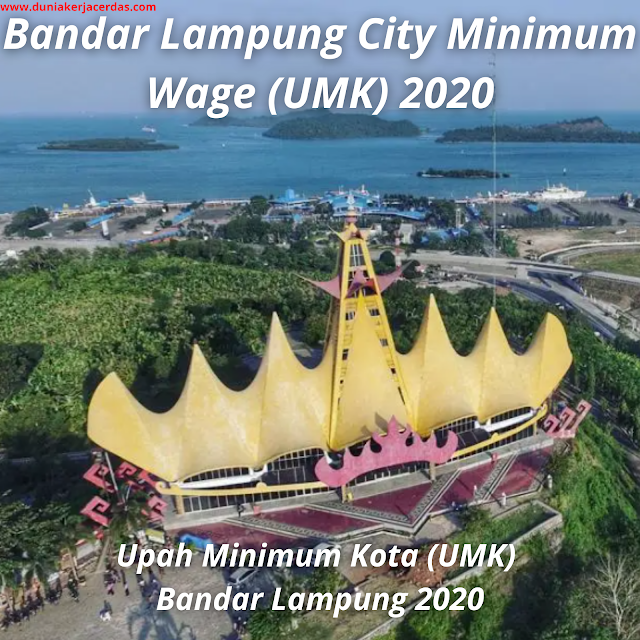 Bandar Lampung City Minimum Wage (UMK) 2020