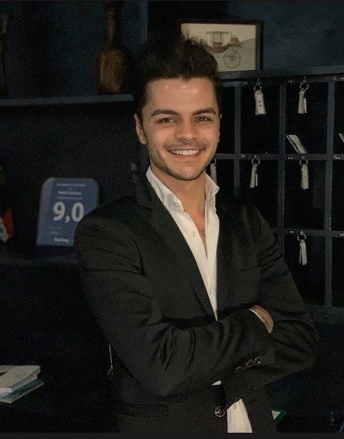 È Haris Bozhnjaku il più giovane albergatore d'Italia: un vulcano di idee ed iniziative