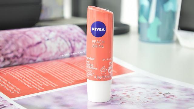 review Nivea Peach Fruity Shine Lipbalm untuk remaja