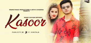 KASOOR LYRICS SHIVAM GROVER | MINKS