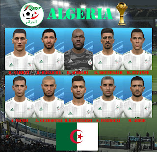 PES 2017 Facepack Algeria 2019 by Eddie Facemaker