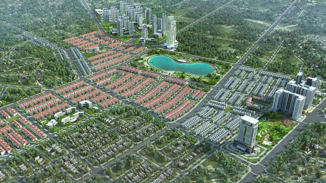 Hạ tầng đồng bộ khu đô thị Dương Nội