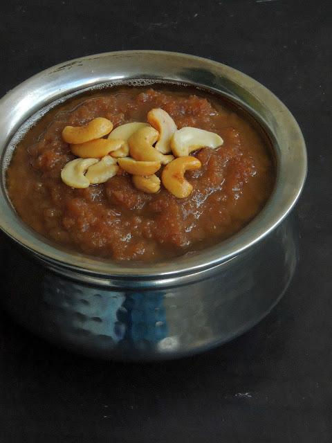 Red rice flakes Pongal, Aval Sakkarai Pongal