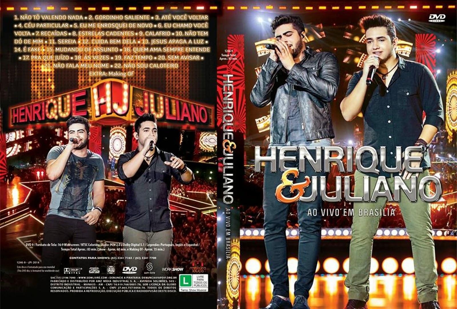 cd henrique e juliano ao vivo em brasilia