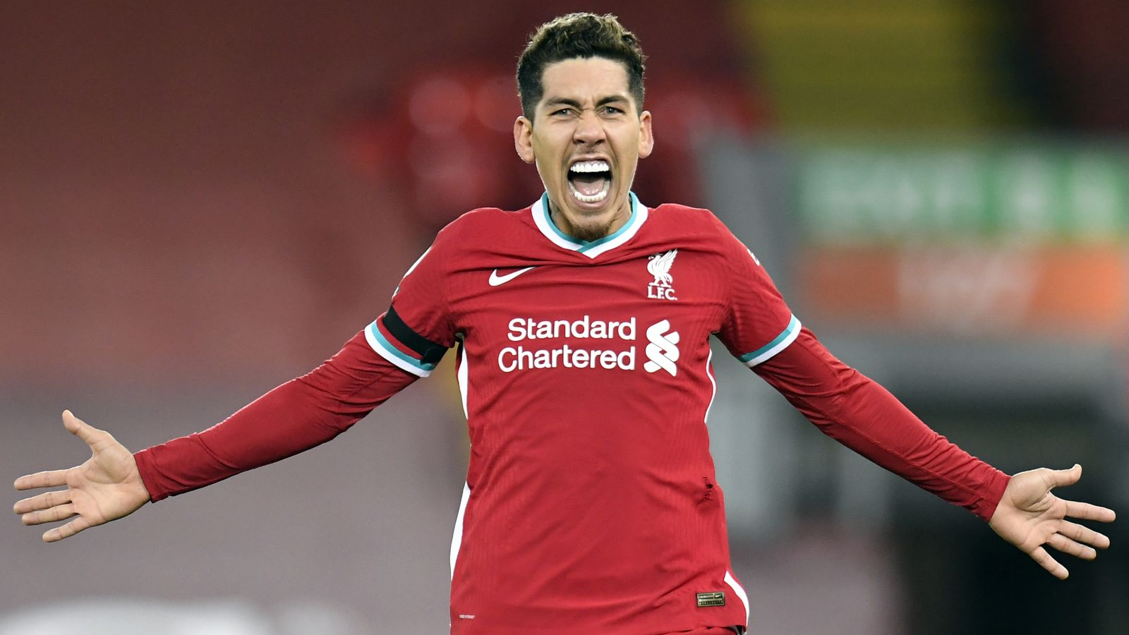 Roberto Firmino scored the stoppage time winner that helped the Reds leapfrog Tottenham