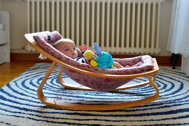 hamaca bebé Charlie Crane a golpe de objetivo