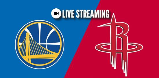 LIVE STREAMING: Golden State Warriors vs Houston Rockets 2018-2019 NBA Season