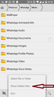 """"""".Statuses""""-folder"""