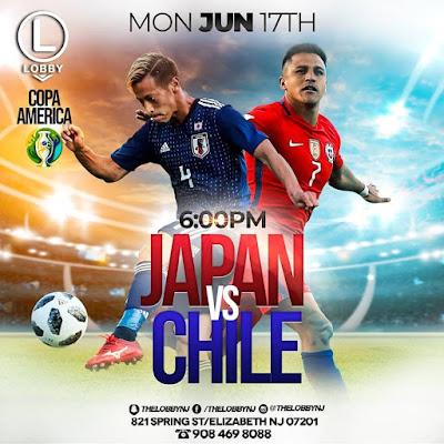 Japan vs Chile Live Copa America 18.6.2019