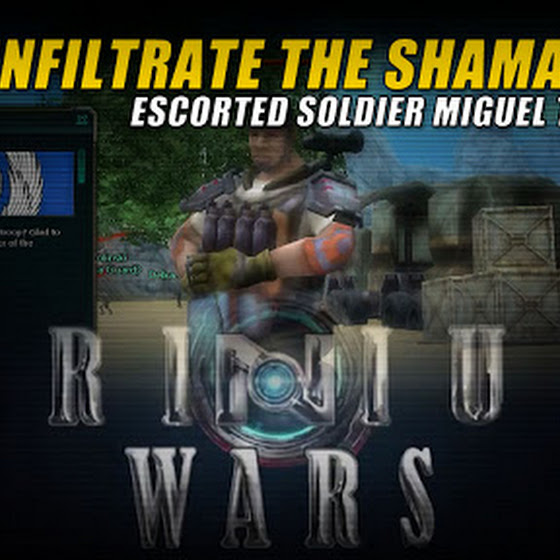 Gamer's Log, Game Date 3.16.2016 ★ Escorted Soldier Miguel To The Shamak Base In Trinium Wars