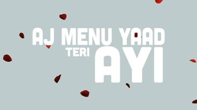 Yaad Teri Ayi Lyrics - Fateh Ft. Raaginder
