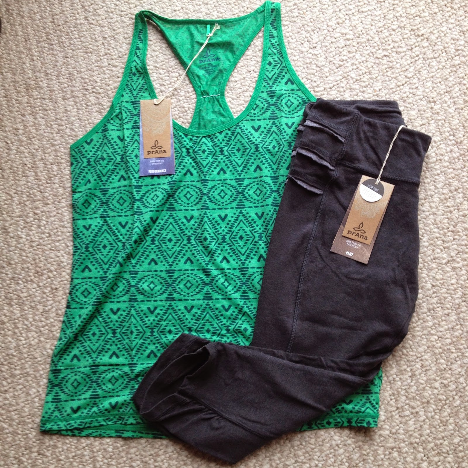 Prana Luca Tank and Freya Knickers