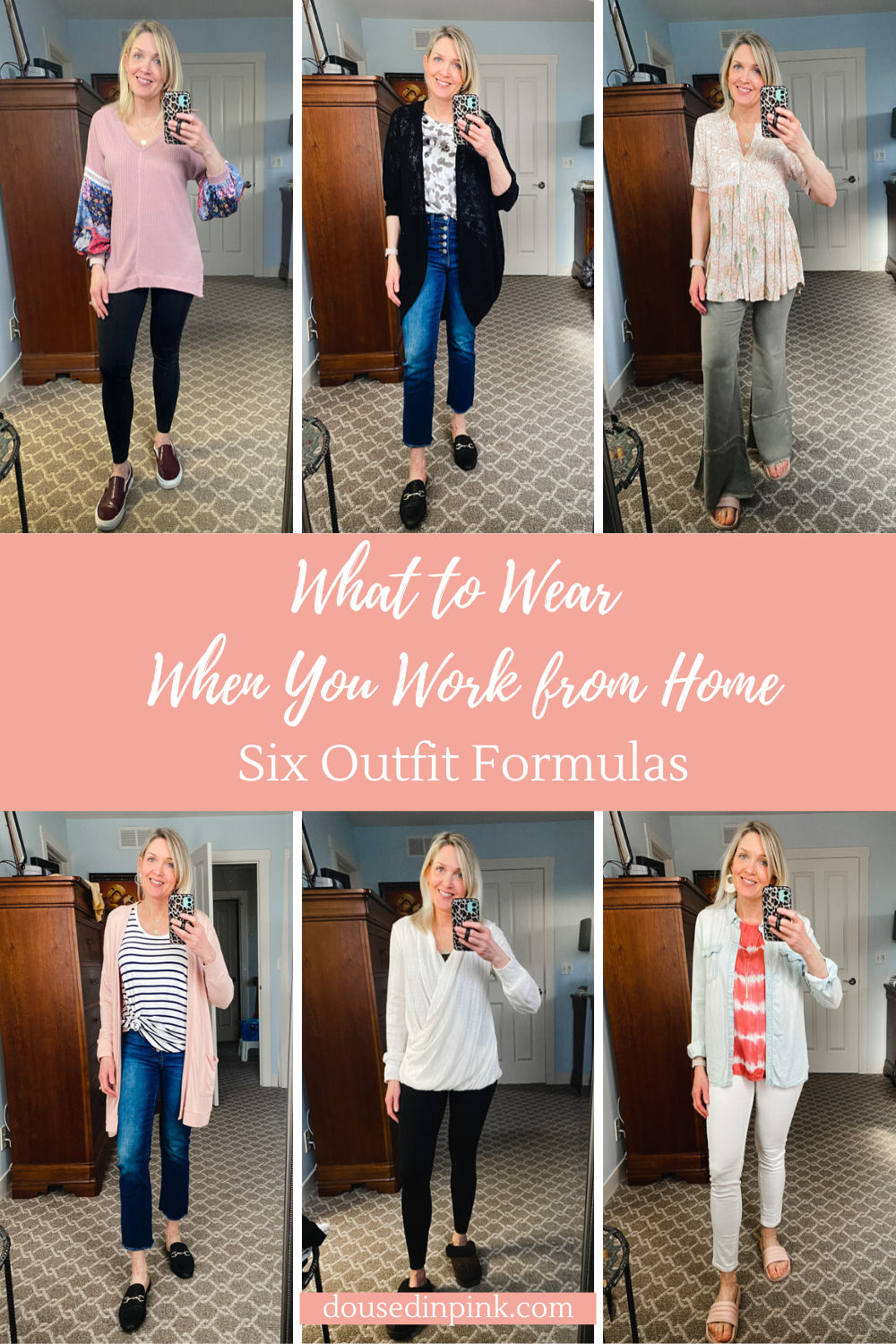 work from home outfit formulas