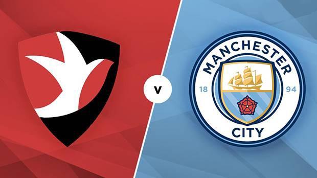 بث مباشر مباراة مانشستر سيتي وتشيلتنهام تاون