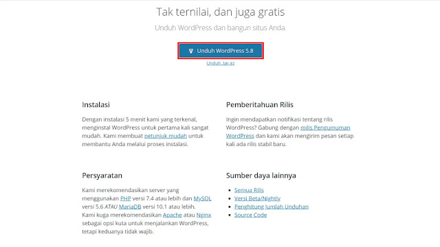 Download File WordPress