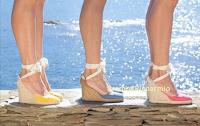 Logo Espadrilles ti fa vincere un paio di scarpe Carina ogni giorno