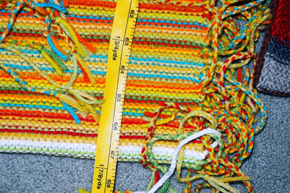 52 Quilts In 52 Weeks Tgiff My Year In Temperatures Scarf