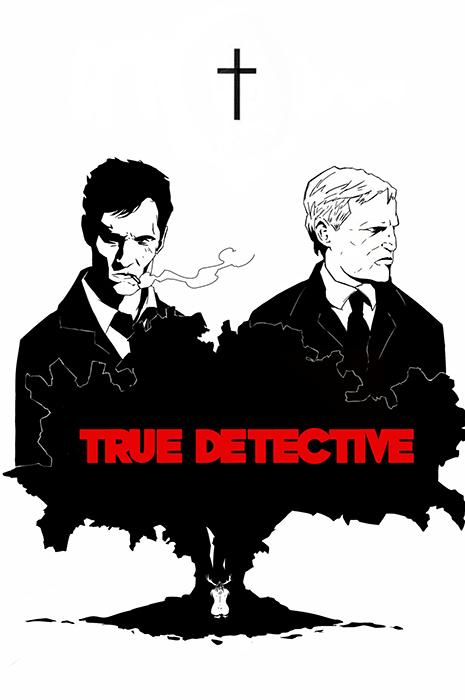 True Detective artwork