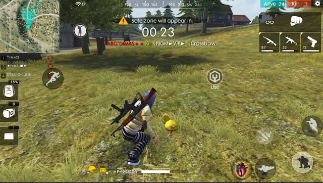 Lokasi Jamur Advance Server Free Fire Misi Gratis 100 Diamond