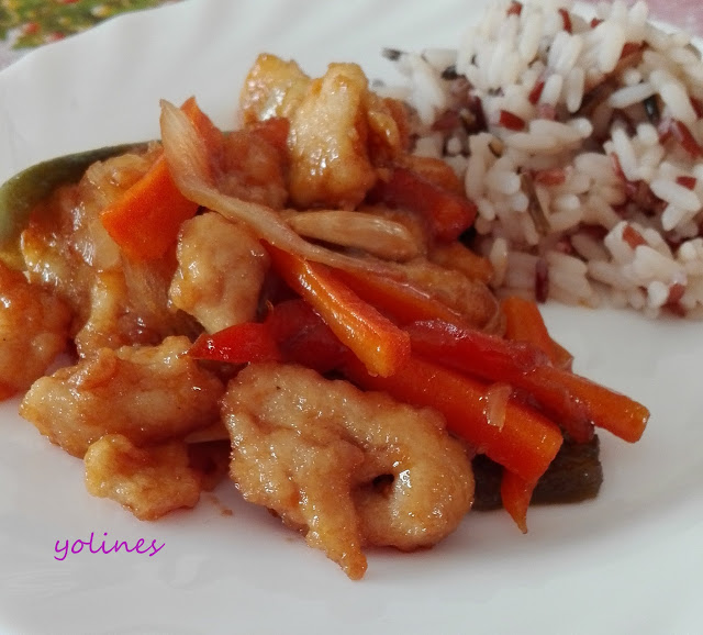 Pollo estilo chino