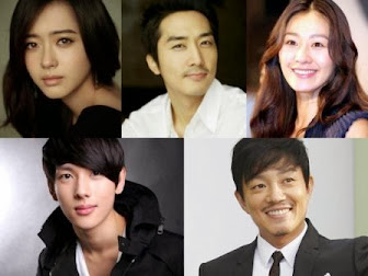 Lee Bum Soo, Song Seung Hun, dan Im Siwan Main di Drama 'Triangle'