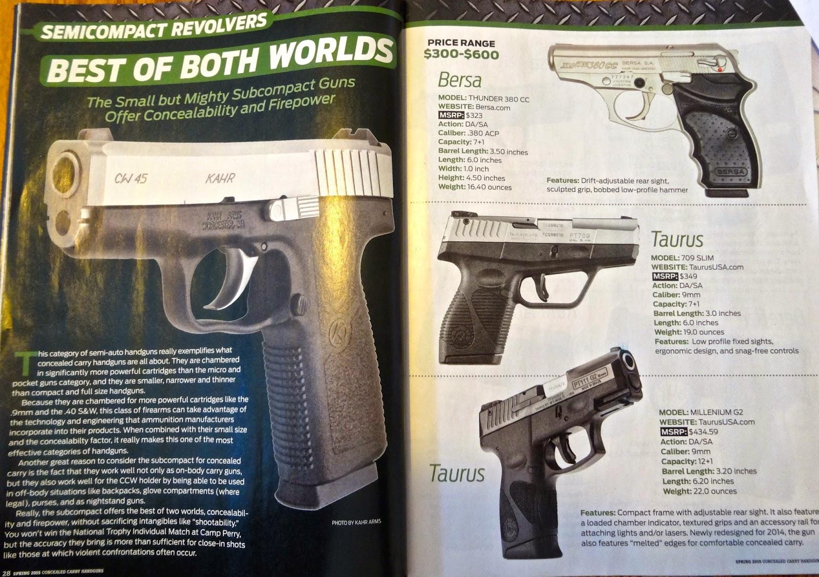 Average Joe's Handgun Reviews: **Updated**Gun World, Why Do