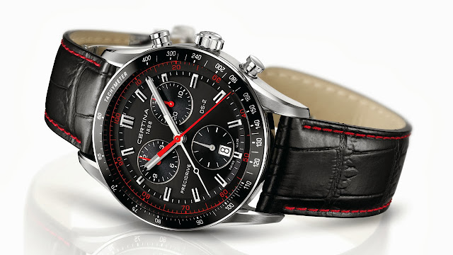 Certina DS-2 Chronograph Watch red