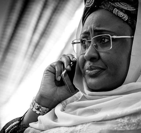 Aisha Buhari Has Chased Garba Shehu Out Of Aso Rock - Nnamdi Kanu Reveals