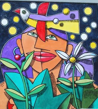 mural de Manolo Sierra, foto tomada del blog El paseante vallisoletano