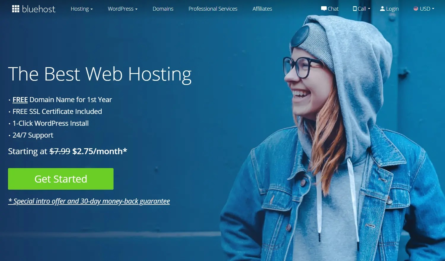 BlueHost services then low-cost hosts and their features | best housting