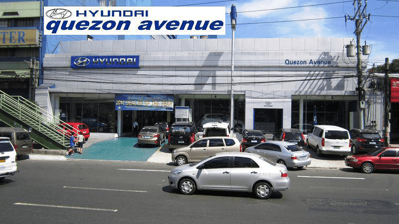 The office of Hyundai along Quezon Avenue