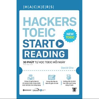 Hackers Toeic Start Reading (30 Phút Tự Học TOEIC Mỗi Ngày) ebook PDF-EPUB-AWZ3-PRC-MOBI