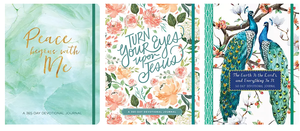 Grow Closer To God in 2019 With 365-Day Devotional Journals from Ellie Claire {A #NewYearNewDevo Review}