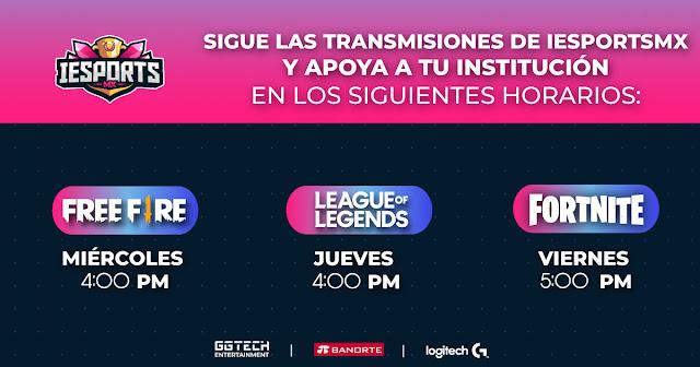 Arranca IESports MX 2021