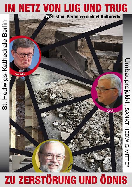 """Die """"Vernichter"""" des Kulturerbes vor den Scherben ihres zerstörerischen Machtdemonstration"""