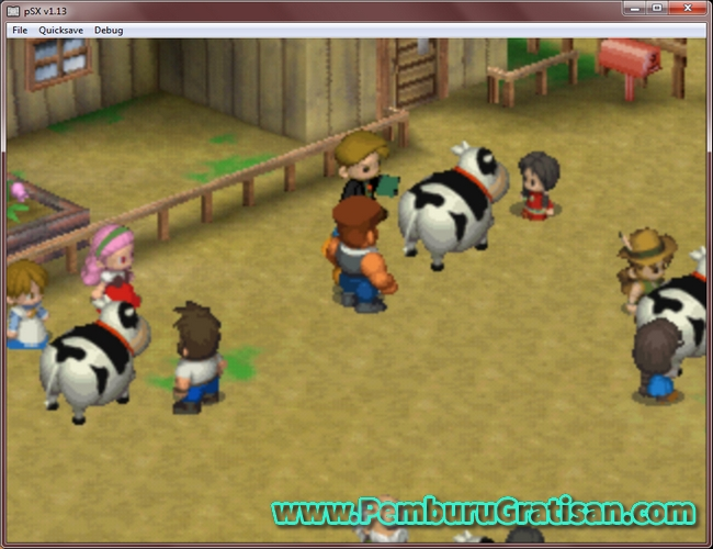 cara memenangkan festival sapi di harvest moon back to nature