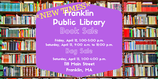 Library Book Sale - April 12-13