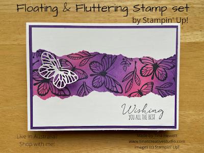 Floating & Fluttering card 1