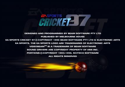 Cricket 97 PC Game Free Download