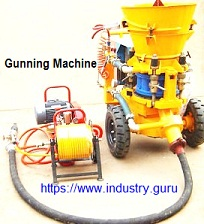 Industry Guru - image of Gunning Maching for Gunnable Refractories