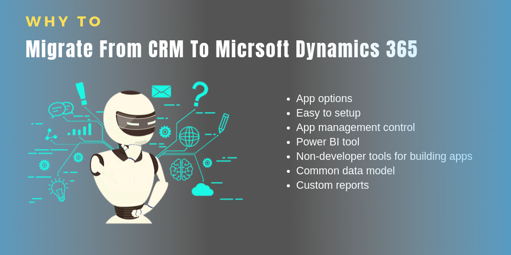 CRM to Micrsoft Dynamics 365